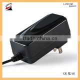 Factory price 12V 2.5A ac dc adapter wall power adapter with RoHS, CE, CB, C-tick, SAA, UL/CUL and FCC certification