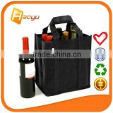 Promotional durable 6 bottle non woven wine bag for shopping bag                                                                         Quality Choice