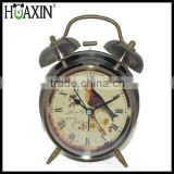 Hot selling birds alarm clock with double bells for promotional clock