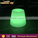 plastic glass top led light dining table for wedding events and party                                                                                                         Supplier's Choice