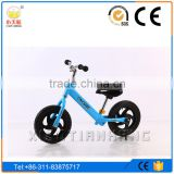12'' 2 wheels Kids Sctooer, Small size Multi-functional Kid balance Bike with Rubber Tire or EVA Tire
