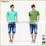 Chinese Supplier Wholesale High Quality Men's Plain t shirts Breathable Quick Dry Plain Men's t shirts