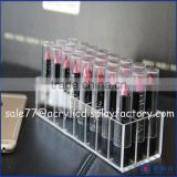 acrylic lipstick display manufacturers,acrylic rotating lipstick tower,12 lipstick acrylic storage display stand                                                                         Quality Choice