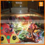 Custom Good Quality Full Colour Print Anti Slip Scratch Resistant Floor Signs Sticker
