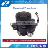 "1/1.8"" 3.6-10mm two motors zoom and focus telephoto high quality with factory price motorized lens"