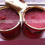 Inquiry about Factory sell metal tin 210g canned ST-RITA tomato paste to Africa market looking for distributors in africa