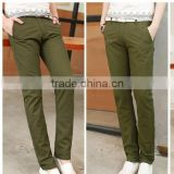 Dark Olive cheap man fashion jeans factory