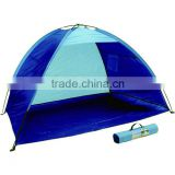 Beach Tents Polyester Beach Shelter Beach Mat with Sun shade Polyester Beach Tent
