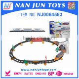 DIY Kids Vehicle Toy Electric Train Toys