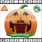 customized halloween bouncy castle, kids inflatable pumpkin bouncy castle for sale                                                                                                         Supplier's Choice