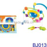 Funny infant toy plastic musical projecting baby bed mobile