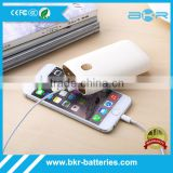 2-Output Portable External Power Bank Battery Charger Pack for iPhone 6/5/4/iPad/iPod/Samsung Devices/Smart Phones/Tablet