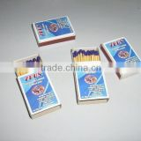 Safety Matches with Wooden Sticks