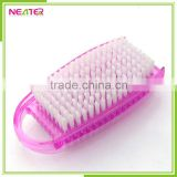 classic square plastic cleaning nail art brush