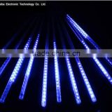 LED Falling Rain Lights with 30cm Tube 144 LEDsMeteor Shower Icicle Snow Fall String LED Light Blue led shower light China
