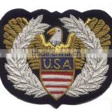 New 2015 USA Style Hand Embroidered Badge/Military Patches