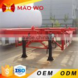 High quality 3 axle 40ft 20ft container truck trailer for sale                                                                                         Most Popular