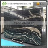 Chinese black marble with zebra marble