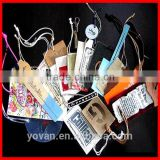 Manufacturer supply Custom Art Paper hangtag Wholesale