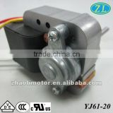 Fan motor Shaded Pole Motor YJ61-20 for oven, fan heater, air conditioner, refrigerator, water pump