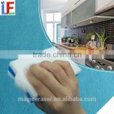 2015 Kitchen Application multipurpose Feature cellulose printed melamine sponge