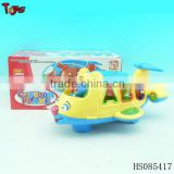 2013 intelligent building block plane cartoon plane toys