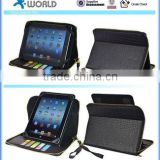 Universal Wallet Portfolio Zipper Leather Case for 8.9-9.7-10.1'' Inch Tablet PC