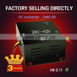 Car power 5A 10A 24 volt 12 volt dc dc converter