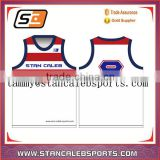 Stan Caleb custom sublimation printed reversiable mesh fabric breathable basketball uniforms basketball jersey