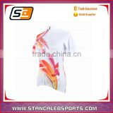 Stan Caleb summer woemn short sleeve cycling jersey