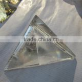 High Quality Small Clear Quartz Crystal Singing Pyramids For Healing