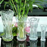 2013 New Arrival crystal glass flowers vase for wedding decor (R-1472