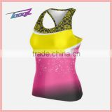 women plus size Cheerleader vest Apparel