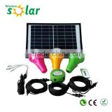Zhongshan factory solar energy home system solar energy system for home led solar home lighting system in india(JR-CGY3)