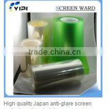 3layers pet film silicon glue oca rewinding roll rolled coiled coil material smartphone screen protective film