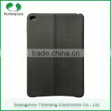 Factory price customize TPU leather two line pattern finish tablet case cover for apple ipad mini 4