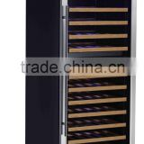 Double temperature style wine refrigetor humidor Hotel wine fridges Restaurant Appliance beverage cooler