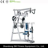 Iso-lateral high row machine hammer strength gym sports equipments