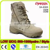 Guangzhou wholesale good price tactical boots 511, tactical boots 6 inch, desert color safety boots with steel toe cap SA-8305