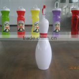 new design 24oz bowling pin sipper cups bottle with straw for water or juice