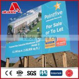 high quality double side advertising board advertising billboard aluminum composite panel board