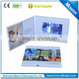Paper Material and Artificial Style multimedia lcd video business card