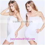 sleeveless hot sexy Seamless sharping wrap dress for women