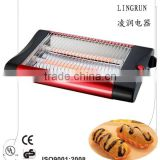 hamburger bun hot dog flat toaster