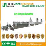 High technology making machine/extruder puff snack food machine core filling snack food machine