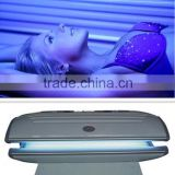 super beauty equipment high quality led lamp luxura solarium for body tanning/solarium tanning bed for sale