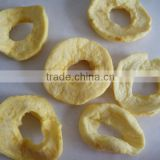 dehydrated fuji apple ring,dried apple slice,AD fruit, no sugar added, with 600-2000 SO2