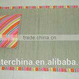 Straw Beach Mat with pillow