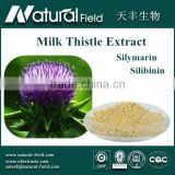 Water Soluble Silymarin Milk Thistle Extract Of High Quality