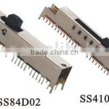 SS-84D02 8P4T slide switch